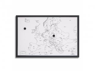 Kreatywna magnetyczna mapa Europy DPCRAFT 60x40cm
