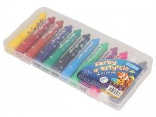 Farby w sztyfcie SCHEMAT 12 kolorów 9160(PI)