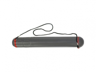 Tuba plastikowa Titanum 400x50 mm szara (T5S)