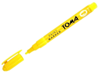 Marker olejowy TOMA 1, 5mm - ¿ó³ty neon