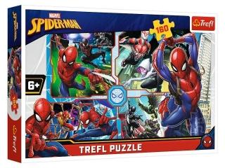 Puzzle  160 TREFL Spider Man na ratunek