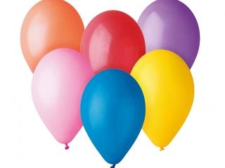 """Balony zestaw """"ANNA 10"""" 10 szt"""