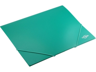 Teczka PP TITANUM z gumk± A4 zielona