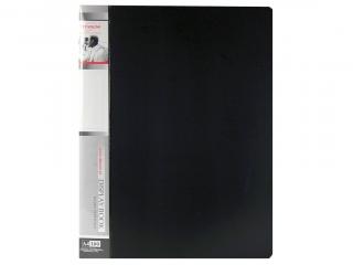 Teczka ofertowa PP TITANUM A4 100 kieszeni czarna (TO100BC)