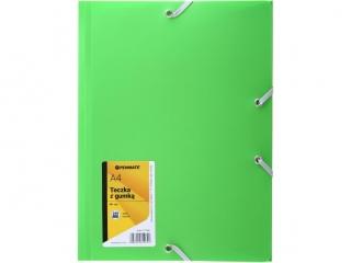 Teczka z gumk± PENAMETE A4 PP-101 zielona