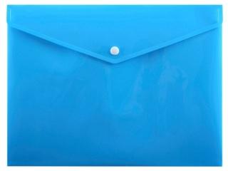 Koperta na zatrzask PENMATE A4 PP-113 niebieska