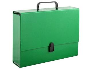 Teczka z r±czk± PENMATE A4 10cm zielona