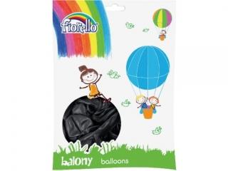 """Balony FIORELLO 12"""" 100szt. metal czarny"""