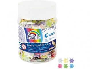 Cekiny confetti FIORELLO GR-C50-14 kwiatek s³oik 50g