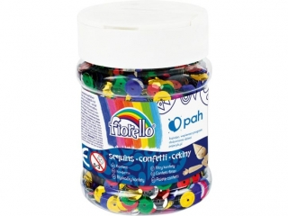 Cekiny confetti FIORELLO GR-C90-8 kó³ko ³amane s³oik 90g