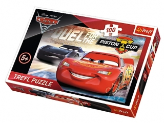 Puzzle  100 TREFL Cars 3 - Piston Cup