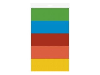Bibu³a g³adka INTERDRUK 70x50cm mix kolorów