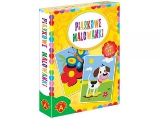 PIASKOWE MALOWANKI-PIES/MOTYL