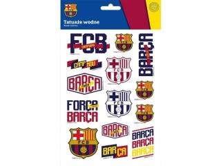Tatua¿e wodne ASTRA FC-203 FC Barcelona barca fan 6