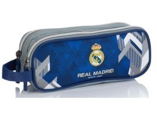 Piórnik saszetka ASTRA na dwa zamki RM-177 Real Madrid Color