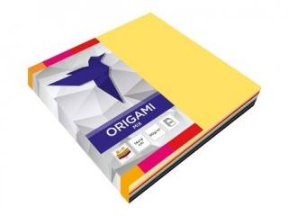 Papier do origami INTERDRUK 14x14cm mix a100