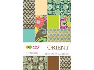 Blok effect ORIENT, 20x29cm, 170-220g/m2, 10 ark, 5 motyw.,