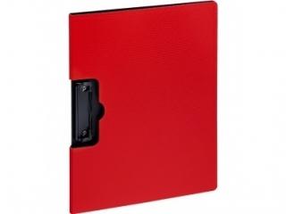 Teczka z klipem GRAND NOTOdesk GR-2205 czerwona klip z boku