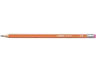O³ówek STABILO 160 z gumkn± 2B - pomarañczowy