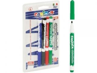Markery tablicowe CARIOCA 4 kolory