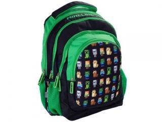 """Plecak Plecak 38cm (15"""") ASTRA szkolny MINECRAFT"""