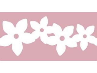 Dziurkacz ozdobny brzegowy DPCRAFT XL Girlanda kwiatów