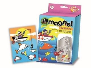 Modelina NARA Magnes 3D Na ryby 25g 5 kolorów