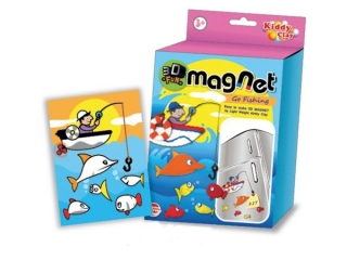 Modelina NARA Magnes 3D Weso³e ryby 25g 5 kolorów