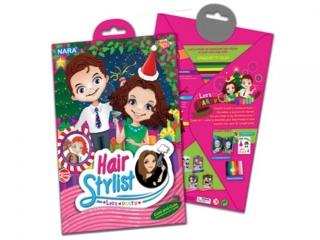 Zestaw kreatywny plastelina NARA Hair Stylist 100g 8kol. - I