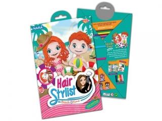 Zestaw kreatywny plastelina NARA Hair Stylist 100g 8kol. - P