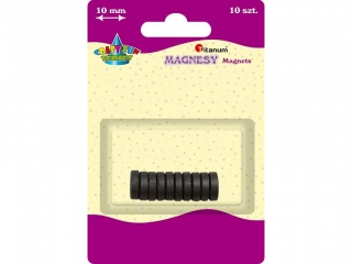 Magnesy TITANUM 1cm 10szt.