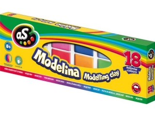 Modelina AS 18 kolorów