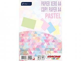 Papier xero A4 100 5 kolorów PASTELx 20 kartek