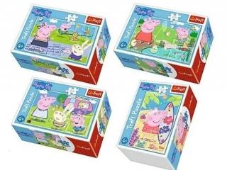 """Puzzle """"54 mini"""" - Weso³y dzieñ ¦winki Peppy / Peppa Pig"""