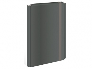 Teczka z gumk± twarda oprawa A4+ INTERDRUK czarna