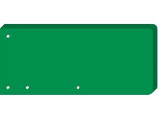 Przek³adki do segregatora INTERDRUK 240x105  50 zielona