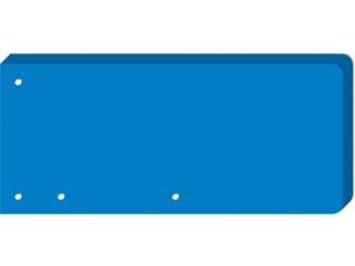 Przek³adki do segregatora INTERDRUK 240x105  50 niebieska