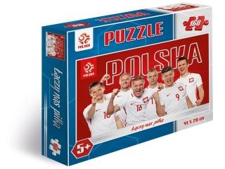 Puzzle 160 elementów PZPN Reprezentacja Polski z Krychowiaki
