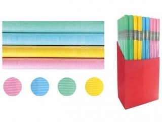 Papier prezentowy INTERDRUK 200x70cm Pastel