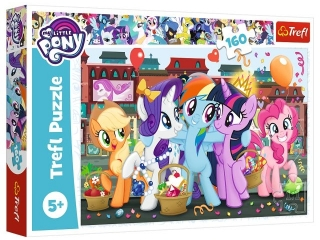 Puzzle  160 TREFL My Little Pony - Kucyki na zakupach