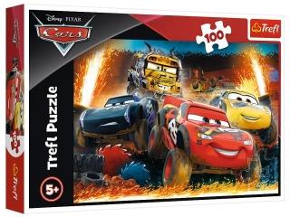 Puzzle  100 TREFL Cars 3 - Ekstremalny wy¶cig