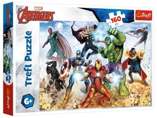 Puzzle  160 TREFL Avengers - Gotowi by ratowaæ ¶wiat