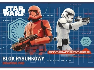 Blok rysunkowy A4 20k. ST.MAJEWSKI Star Wars
