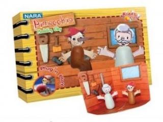 Plastelina NARA Fairy Tales - Pinokio 200g