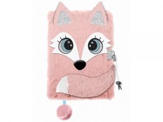 "Pamiêtnik z k³ódk± 3D ""w³ochacz"" A5, 96k FOX"