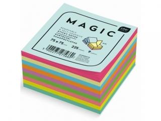 Karteczki samoprzylepne INTERDRUK Magic Cube 225k. 9x75x75