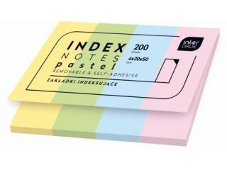 Zak³adki indeksuj±ce INTERDRUK Pastel 200,4x20x50