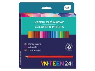 Kredki trójk±tne YN TEEN 24 kolory