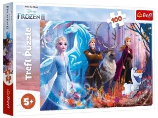 Puzzle  100 TREFL Kraina Lodu - Magia Krainy Lodu