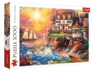 Puzzle 1000 TREFL Spokojna przystañ